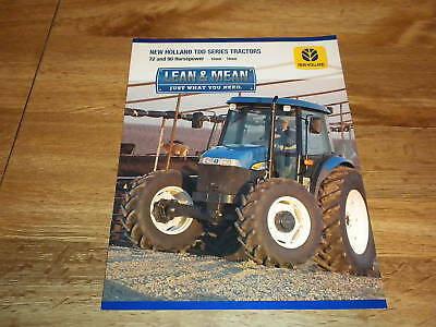 New Holland TDD Series Tractor Sales Brochure