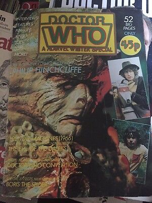 Doctor Who Monthly Winter Special 1981 Marvel Comics