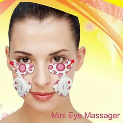 Electric pulse eye facial massager anti wrinkle aging puffy under eyes bag