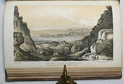 Report of an Expedition Down the Zuni and Colorado Rivers Sitgreaves 1st Ed Map