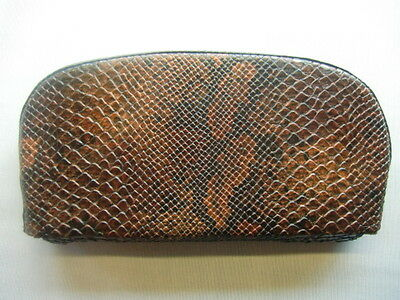 Brown Snake Skin Scooter Back Rest Cover (Purse Style)