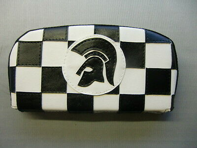 Check Trojan Scooter Back Rest Cover (Purse Style)