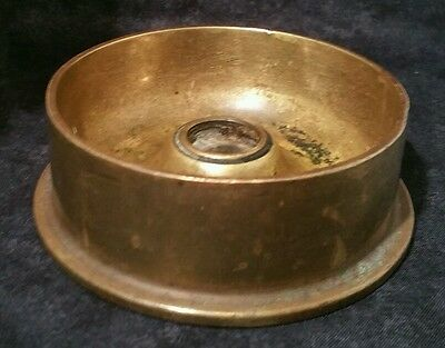 WW2 Trench Art Artillery Shell Ashtray Dated 1935