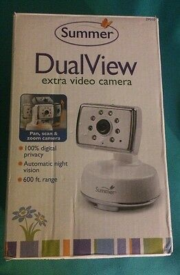 Summer Infant DualView Extra Digital Color Video Camera/Baby Monitor #29010