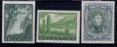 Argentina Stamps SC# 639-40,42 MLH