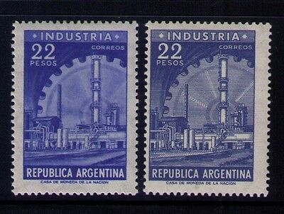 Argentina Stamps SC# 699-700 MH/ MLH