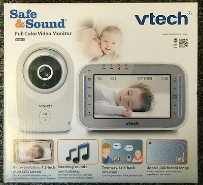 Vtech VM341 Safe and Sound Full Color Video Monitor - BRAND NEW!!!