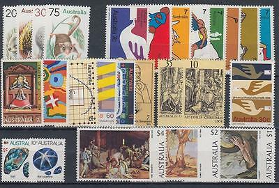 Australia 1974 MNH ** All Complete Year 26 Stamps [A1320]