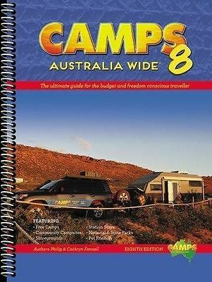 Camps Australia Wide 8 by Philip Fennell, Cathryn Fennell (Spiral bound)