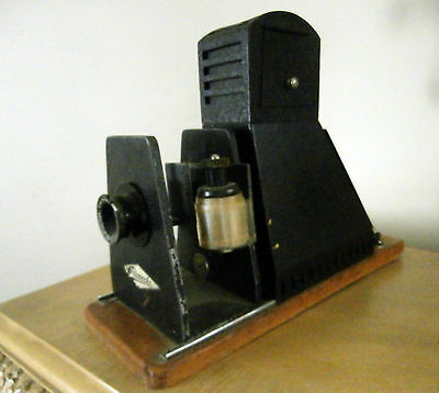 Antique Filmosto Projector with Filmostar Meyer Lens 1920's Really neat Look!