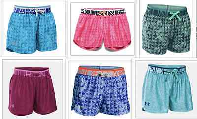 Under Armor Style #1275288 Play Up Girls' Shorts  SIZES S - XL