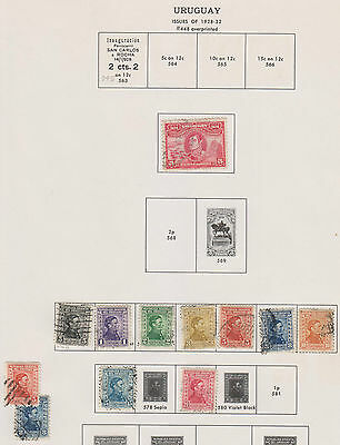 Uruguay - Old Mint & Used Collection Part 3, 1920 to 1949 (11 scans)