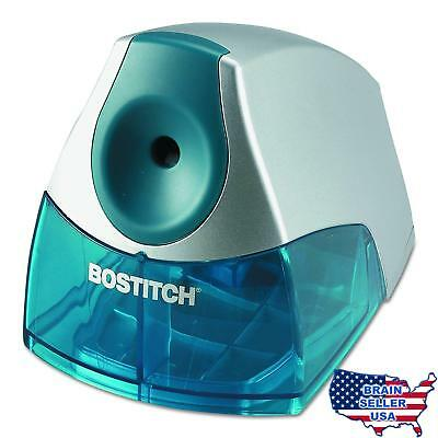 Bostitch Personal Electric Pencil Sharpener, Blue (EPS4-BLUE), New, Free Ship