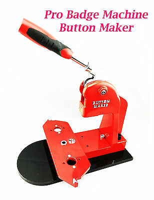 New Pro Badge Machine Button Maker (More Convenient and Safe) Free shipping