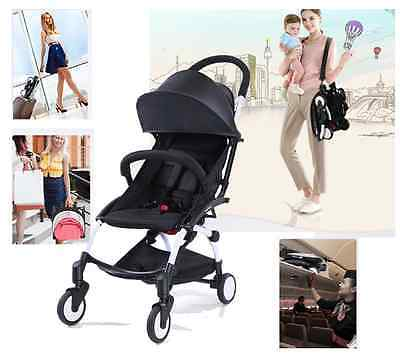 Compact Lightweight Baby Stroller Pram Folding Travel Carry on Board Plane Small