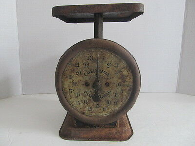 Vintage Columbia Family Scales, 24 Pounds  **** Please Read ****
