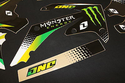 Honda Crf450R & Crf250R One Industries Mx Graphics Decals Kit Stickers