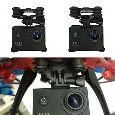 Universal Gimbal W/Camera Holder Mount For Syma X8C RC Quadcopter Drone Black!