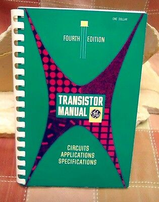 General Electric Transistor Manual 4th Edition 1959 Circuits Applications Specs