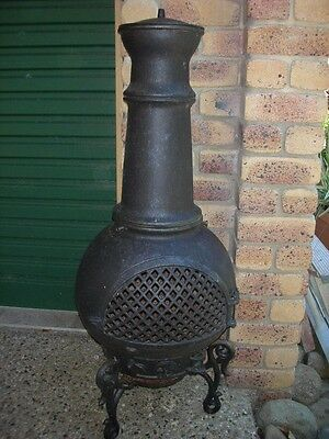 Outdoor Wood Burning Heater Fire Place