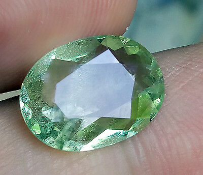 Beautiful 5.34 Natural Meraani Mint Green Glossular Garnet , Untreated VVS  #11