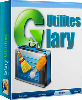 Glary Utilities 5 Pro - 32/64Bits - New -Neuf