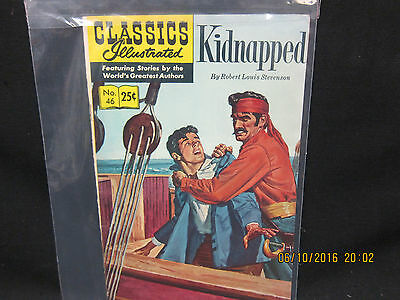 Classics Illustrated #46 Kidnapped