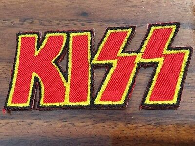 Kiss Rock Music Band Embroidered Iron On Patch Badge