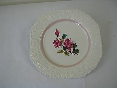 English, Lord Nelson Pottery Plate,pretty rose pattern,free postage