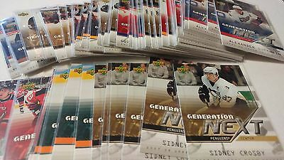 2007-08 Upper Deck UD Generation Next You Pick UPick From List Lot 07/08