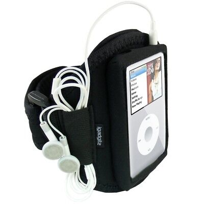 iGadgitz Water Resistant Neoprene Sports Gym Jogging Armband for Apple iPod Clas