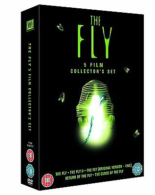 """The Fly Complete Movie Collection 1-5 Dvd Box Set 5 Discs R4 """"new&sealed"""""""
