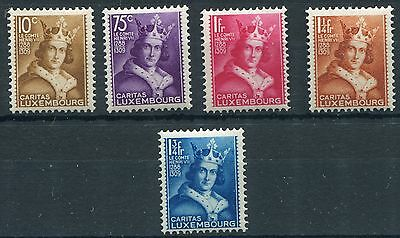 Luxembourg 1933 SG 312-316 Child Welfare set u/m (MNH)