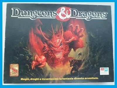 Gioco In Scatola Dungeons & Dragons – Tsr - Eg -1991 - In Italiano