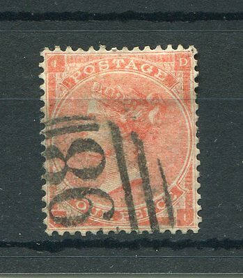 GB QV 1862-64 SG 82 4d pale-red sound to good used