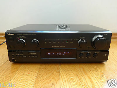 Technics SA-G89 500W Stereo Audio Video Surround Receiver TESTED Works Great!