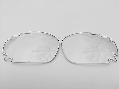 Replacement Clear Transparent Oakley Jawbone & Racing Jacket Vented Lenses