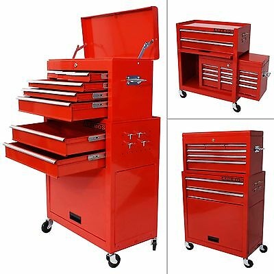 9 Compartment Tool Trolley