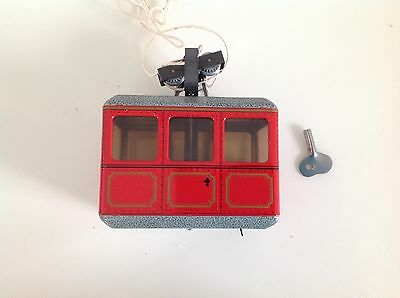 Kovap Cableway toy tinplate clockwork Cablecar Good quality