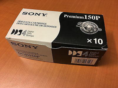 SONY DDS - Data Cartridge - DGD 150P x10 - NEW - DDS4 - 20 - 40 - PREMIUM