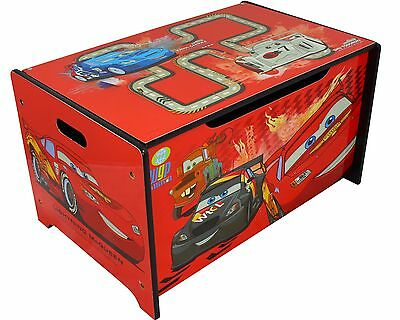 disney cars spielzeugkiste spielzeugbox aufbewahrungskiste spielzeug truhe 49428 eur 29 99. Black Bedroom Furniture Sets. Home Design Ideas