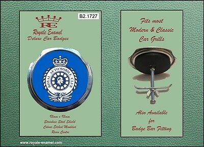 Royale Car Grill Badge & fittings Vintage style ROYAL AUTOMOBILE CLUB RAC B21727