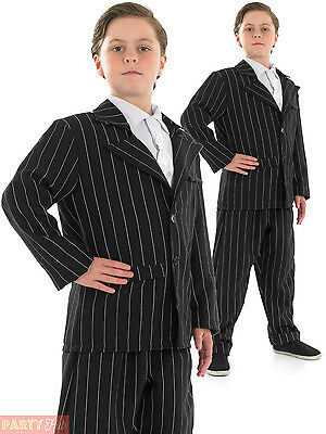Boys Little Gangster Costume Childs 1920s Fancy Dress Book Week Al Capone Outfit  sc 1 st  PicClick UK & BOYS LITTLE GANGSTER Costume Childs 1920s Fancy Dress Book Week Al ...