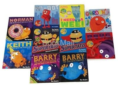 Sue Hendra's Supertato & Other Stories - 10 Book Set Collection + Free WBD Book