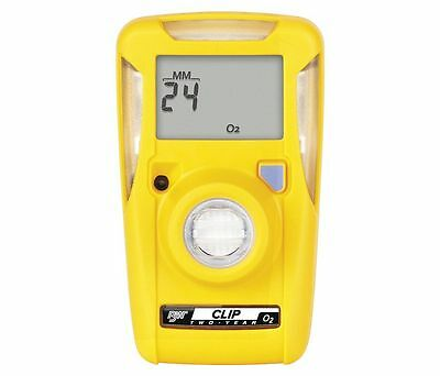 BW Technologies BWC2-X GasAlert Clip Extreme Gas Monitor For O2 Oxygen Free Ship