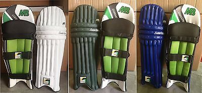 "MB Malik ""LIMITED EDITION"" Cricket Batting Pads,Original New Arrival"
