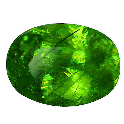 5.26 Ct  Excellent Ultra Rare Collection Rich Green 100% Natural Sphene Gem