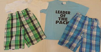 Boys Size 8 CLOTHES LOT 2pc  Short and Shirt OUTFITS
