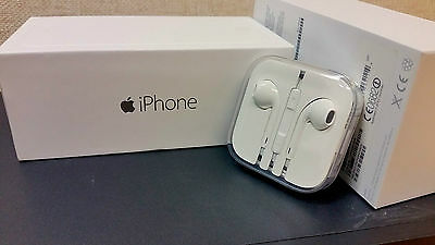 Apple iPhone 6 6+ 5s Headphone Earpods Earphones Handsfree With Mic