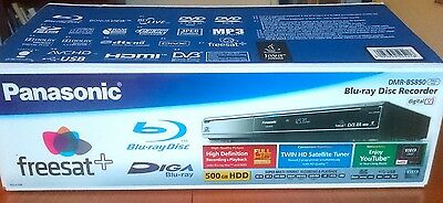 Panasonic DMR-BS850 Digital Blu-Ray Disc Recorder Freesat HD Recording 500GB HDD